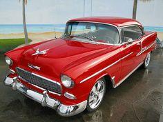 55' Chevy Belair Hardtop...