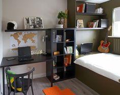 子供部屋 Rush 男の子の部屋 - 学習スペース 家 30坪 インテリア実例