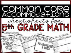 """This no fuss or frills """"cheat sheet"""" allows you to keep notes on how you adapted/modified lessons you've taught. Perfect for keeping track of adapted assignments. - i.e. homework, tests, projects, etc. Included in this product is a PDF file listing all standards, with plenty of space allowing you to write notes on the lesson/assignment, and any adaptations that were made. This is the perfect """"cheat sheet"""" to use year after year!"""