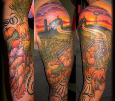 Amazing !  Tattoo by Kurt Brown
