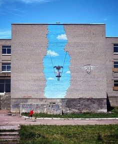 Street Art Masterpiece By Seth Globepainter #streetart http://streetart360.net