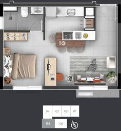 home decor hallway Studio Apartment Floor Plans, Studio Apartment Layout, Small Apartment Design, Apartment Plans, Layouts Casa, House Layouts, Small House Plans, House Floor Plans, Floor Plan Layout