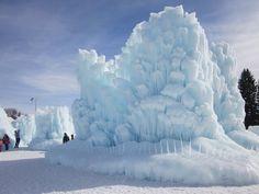 Midway, UT ice castles