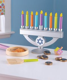 This Chanukah Tradition Set is perfect! #zulilyfinds