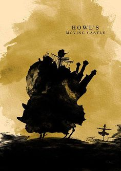 Howl's Moving Castle Silhouette