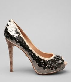 Do it yourself weddings diy shoe upgrade for your wedding shoes diy paillette heels solutioingenieria Choice Image