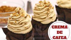 CREMA DE CAFEA ,CREMA MOKA [Reteta Rapidă]  - Anyta Cooking Creme Caramel, Antipasto, Cake Decorating, Bacon, Food And Drink, Ice Cream, Cupcakes, Sweets, Postres