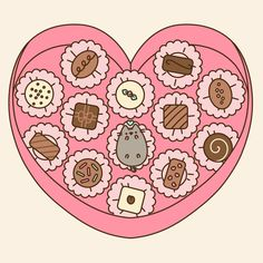 Would you eat the would cutest piece of pusheen ever!!!!