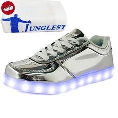 [Present:kleines Handtuch]Golden EU 25, Schuhe schuhe laufende weise Sport Paare Junge Leuchtend Herbst Unisex Winter JUNGLEST® Kinderschuhe Mädchen und 7 Leucht LED USB