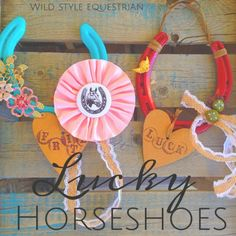 Wild Style Equestrian: Lucky Horseshoes For Your Horse Lovin' Valentine