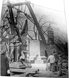 Yesterday: the raising of 'Fame' in 1909 #salisburync