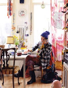 Bas Kosters' apartment and studio