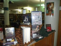 """""""Teens From Other Times"""" Historical Fiction Display"""
