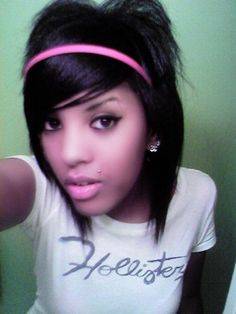 1000+ images about Cute Hair on Pinterest Emo hair - Cute Black Girl Hairstyles