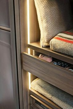 Closet lighting detail