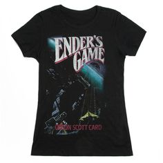 Ender's Game womens literary t-shirt | Outofprintclothing.com