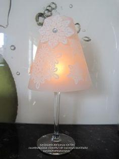 Lampenschirm für Weinglas