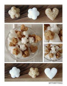 Hacer terrones de azúcar con formas DIY | Aprender manualidades es facilisimo.com