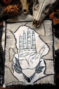 ✯ Palmistry :: Artist Unknown ✯