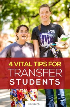 4 Vital Tips for Transfer Students #college #transfer