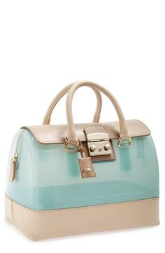 Furla bag! Love the netural and light colors! Perfect for Spring! #currentlyobsessed