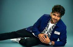 Black Wall Stickers, Guru Pics, Lord Vishnu Wallpapers, Suit Jacket, Bomber Jacket, Teen Fashion Outfits, Cool Girl, Singer, Blazer