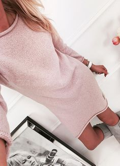 beaf6e99c08c The knit dress can be worn for any occasion College Girls