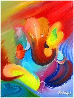 """Saatchi Art Artist Srikanya Kundu; Painting, """"Color of Divinity"""" #art"""