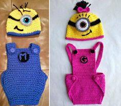 Crochet Minion Overalls Free Patterns