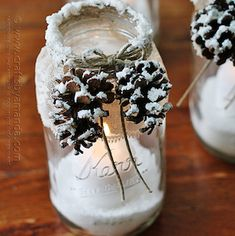 The Best DIY Farmhouse Dollar Store Christmas Hacks Ever! - The Cottage Market The Best DIY Farmhouse Dollar Store Christmas Hacks Ever! - The Cottage Market Dollar Store Christmas, Christmas On A Budget, Christmas Mason Jars, Christmas Candles, Noel Christmas, Christmas Crafts For Kids, Christmas Decorations, Holiday Decorating, Christmas Centrepieces