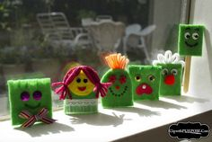 """Kids Helping Kids"" – Super Easy Finger Puppets!"