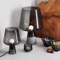 The Iittala - Leimu Lamp in Grey Design Scandinavian, Nordic Design, Bauhaus, Charles Ray Eames, Scandi Style, Fall Table, Interior Inspiration, Interior Ideas, Interior Design