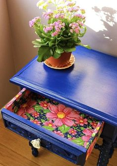 Furniture For Sale Online Decoupage Furniture, Hand Painted Furniture, Funky Furniture, Recycled Furniture, Kids Furniture, Furniture Makeover, Furniture Dolly, Painted Chairs, Home And Deco