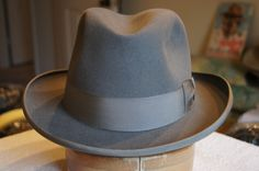 The Homburg hat shape was worn only by the boss in organized crime rings.