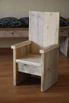 Kinderstoel 'troon'