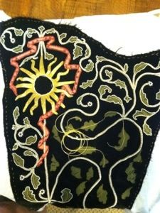 Swabian gown project « Medieval handwork Fantastic blog, fantastic dress! I want one.