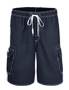 e996bc4e7b Nonwe Men's Beachwear Board Shorts Quick Dry with Mesh Lining Swim Trunks  Review Mens Clothing Sale