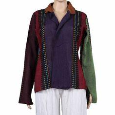 Boutique indienne - Veste femme fashion - Vêtement coloré ethnique de l'Inde: Amazon.fr: Vêtements et accessoires
