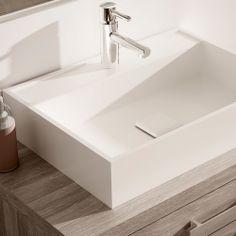 Lavabo Polo, con un diseño precioso y limpio os presentamos el lavabo polo, práctico y elegante, podeis combinarlo con vuestro mueble de baño.