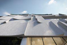 University Of Melbourne, Concrete Facade, Jewish Museum, Jewish Art, Cultural Center, Facade Design, Built Environment, Modern Buildings, Partner