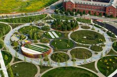 The High Line's Landscape Architects Reenvision The Office Park | Co.Design | business + design