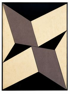 LYGIA CLARK, Plano em Superf cie Modulada no.5, 1957. Oil on canvas. / Mulpix