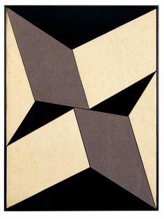 LYGIA CLARK, Plano em Superf cie Modulada no.5, 1957. Oil on canvas. / Mulpix