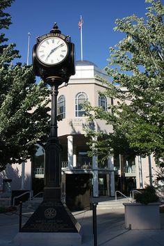 Clock and Capital ...Carson City, Nevada