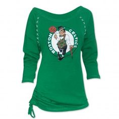 Celtics Womens Team Top in Green #celtics