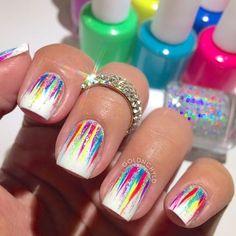 nail tips design Simple Different Nail Shapes, Different Nail Designs, New Nail Designs, Bailarina Nails, Cute Nails, Pretty Nails, Pedicure Nail Art, Pedicure Ideas, Seasonal Nails