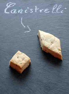 Canistrelli à l'anis et au citron (biscuits corses)