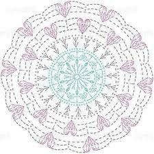 Crochet Mandalas – Page 8 Filet Crochet, Mandala Yarn, Crochet Doily Diagram, Crochet Mandala Pattern, Crochet Diy, Crochet Circles, Crochet Doily Patterns, Crochet Chart, Crochet Squares