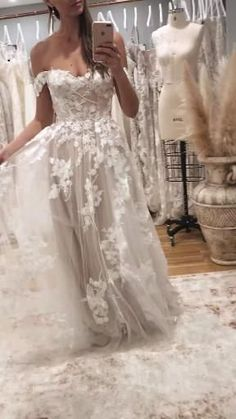 Garden Wedding Dresses, Lace Wedding Dress With Sleeves, Rustic Wedding Dresses, Lace Mermaid Wedding Dress, Modest Wedding Dresses, Bridal Dresses, Lace Dresses, Wedding Ideas, Applique Wedding Dress