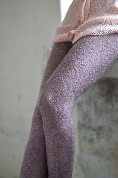 Knit Aplaca Leggings Slim Fit Pants Fall Pants Wool Leggings